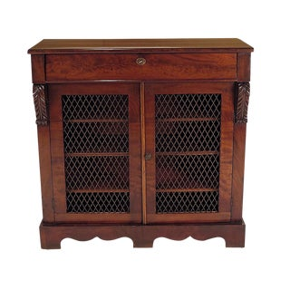 English Regency Period Mahogany Cabinet