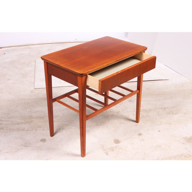 Image of Mid-Century Danish Modern End Table
