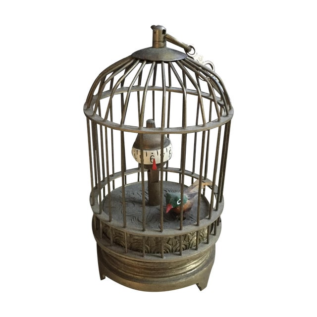 1800's Bird Cage Clock - Image 1 of 9