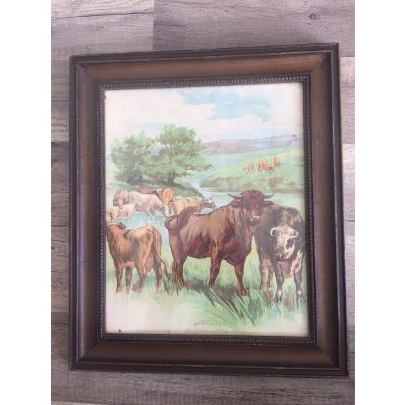 Cows Painting - Image 2 of 3