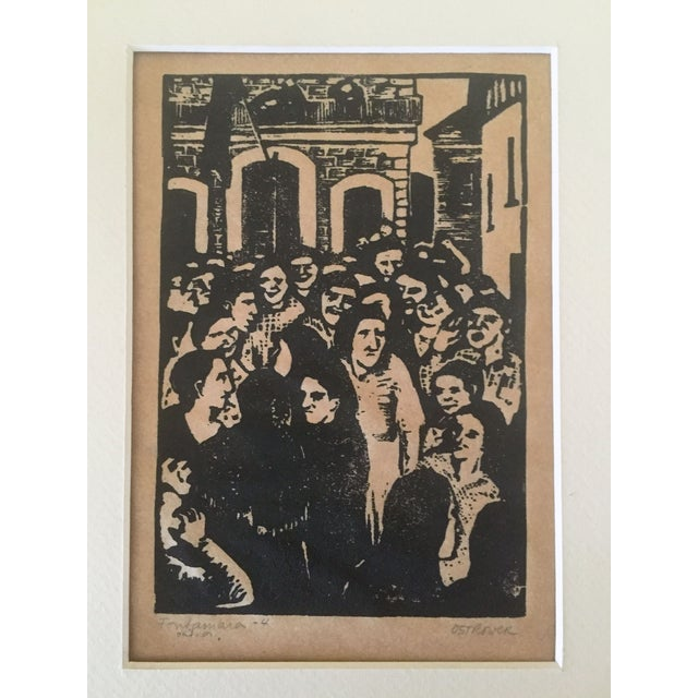 Fay Ostrower Woodblock Print - Image 3 of 6