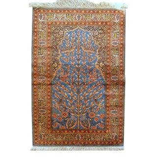 Antique Turkish Kayseri Prayer Rug- 3′ × 4′7″