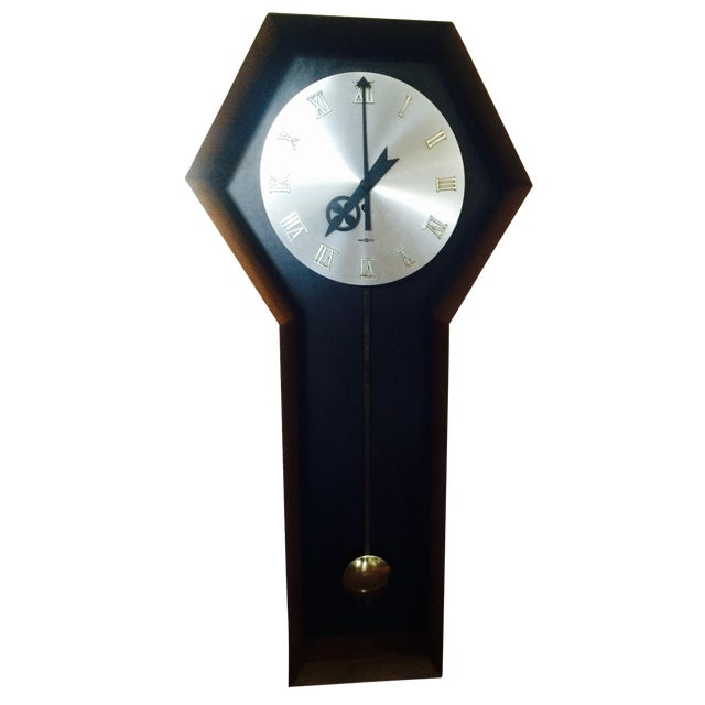 George nelson by howard miller mid century 557 wall clock for Nelson wall clock