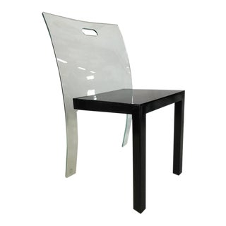 Stunning Curvet Zeritalia Glass Chair