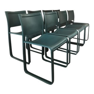 Matteograssi Cowhide Dining Chairs - Set of 8