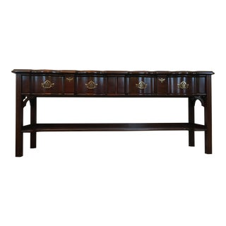 Harden Cherry Hardwood Console Table