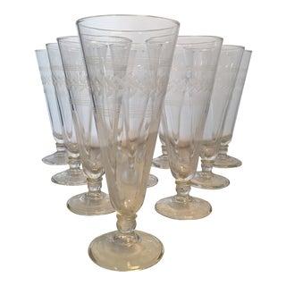 Anchor Hocking Pilsner Glasses - Set of 10