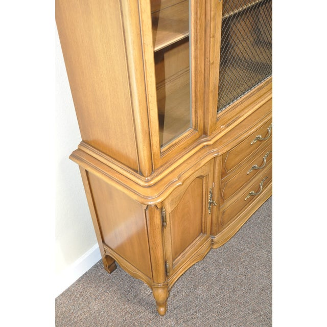 French Provincial Walnut Cabinet - Image 5 of 8