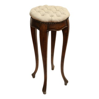 Country French Pedestal Stool