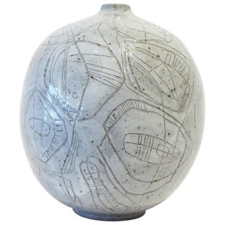Scribed Vessel by Heather Rosenman