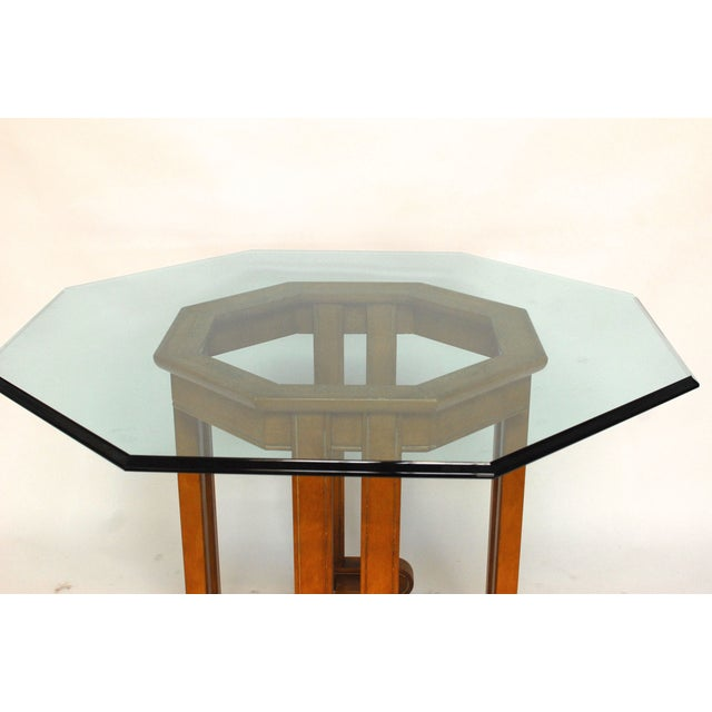 Asian Octagonal Dining Table - Image 4 of 6