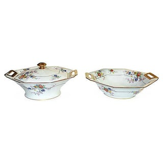 Limoges Tureen Set - A Pair