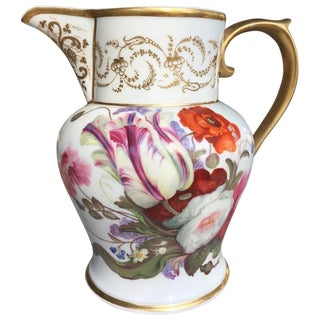 Paris Porcelain Neoclassical Pitcher