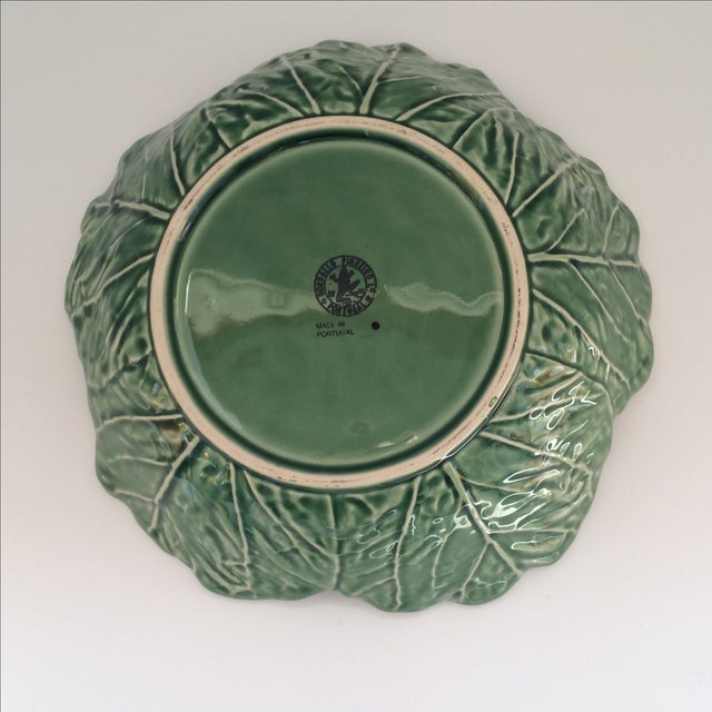 Green Lettuce Ware Bowl - Image 6 of 6