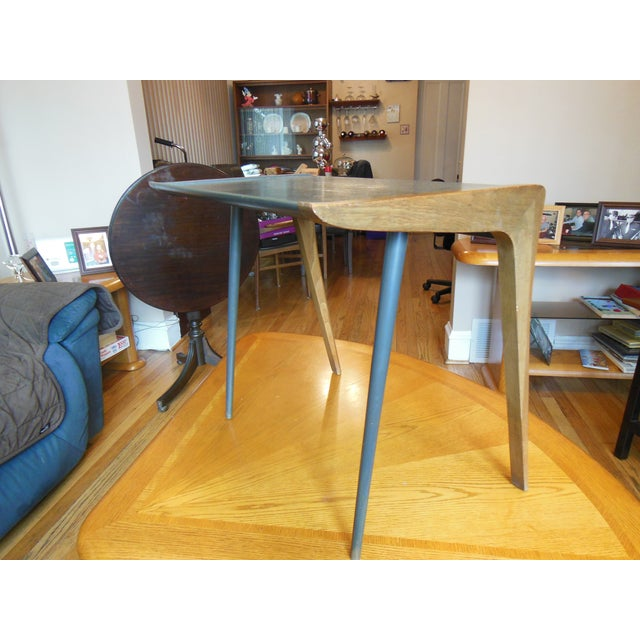 Mid-Century Two Toned Side Table - Image 3 of 5