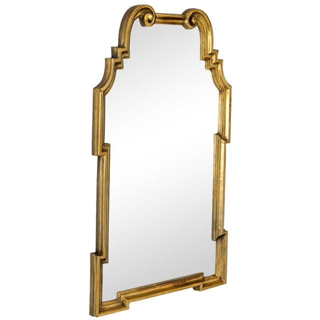Gilded Scroll Mirror - Image 2 of 6