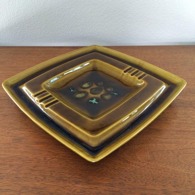 Mid-Century Glazed Ceramic Ashtray - Image 9 of 9