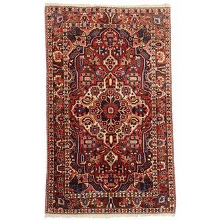 RugsinDallas Hand Knotted Wool Persian Baktiari Rug - 5′2″ × 8′2″