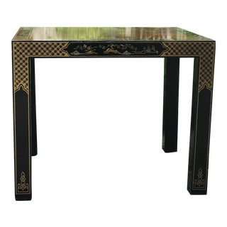 Vintage Drexel Heritage Chinoiserie Side Table