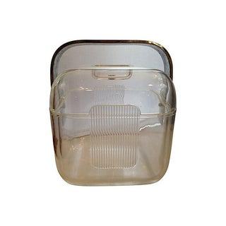 Italian Lucite Ice Bucket