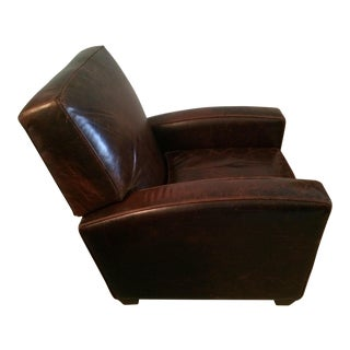 Restoration Hardware Leather Reclining Chair