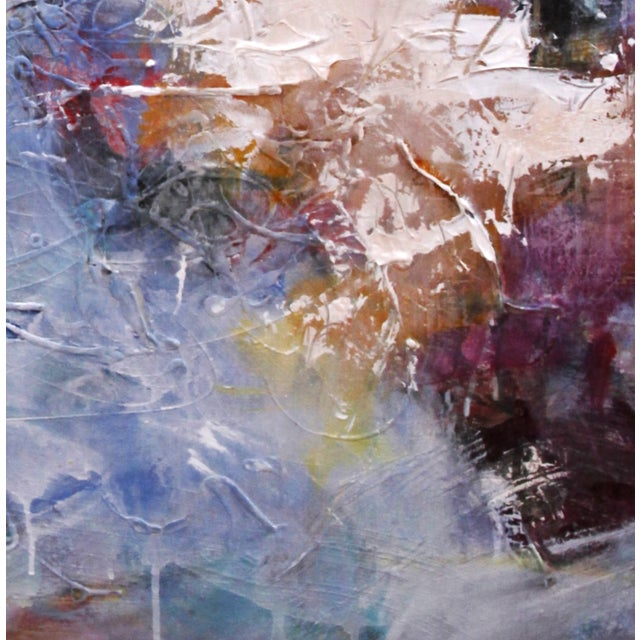 Passages Mixed Media Abstract Painting - Image 2 of 3