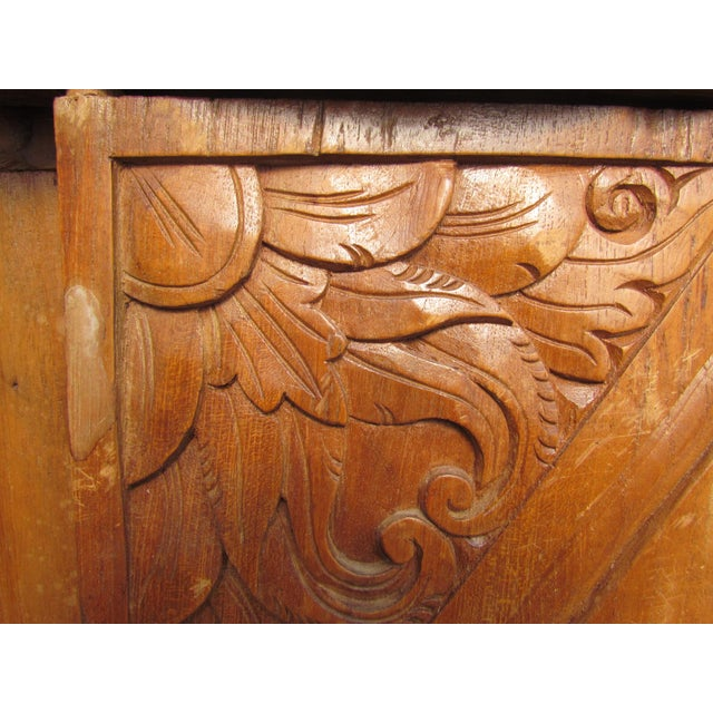 Spanish Carved Armoire - Image 7 of 8
