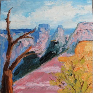 'Grand Canyon' Painting on Wood