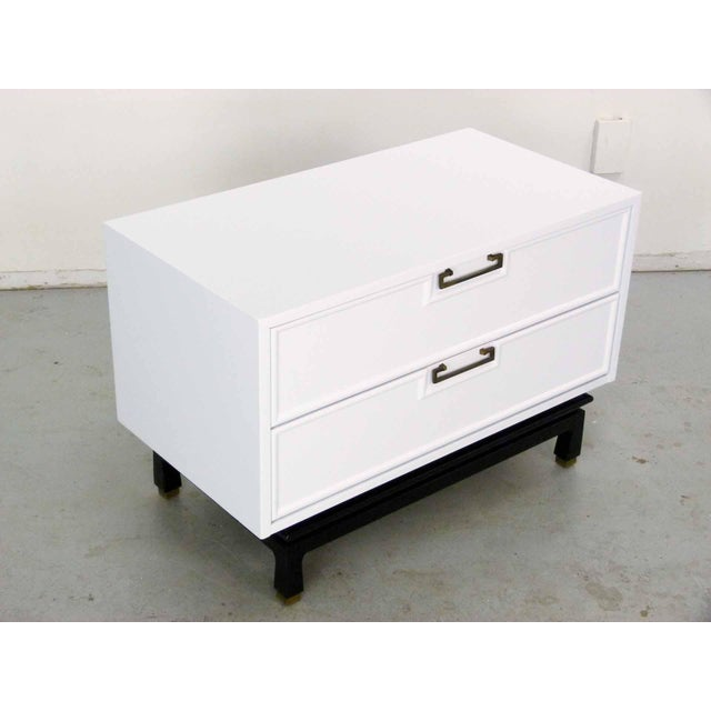 Asian Style White Chest by American Martinsville - Image 8 of 9