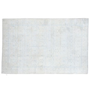 "Distressed Oushak Rug - 4'6"" x 7'9"""