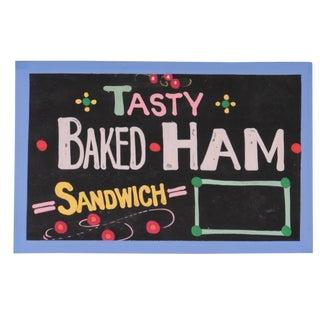 """Tasty Baked Ham"" Sign"