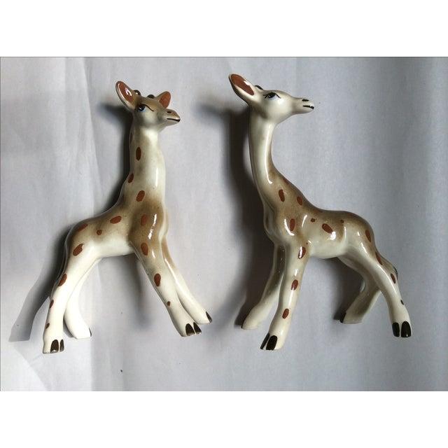 Giraffe Figurines - A Pair - Image 6 of 8