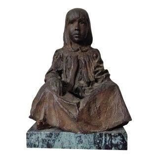 'Sasha' Sculpture of a Girl