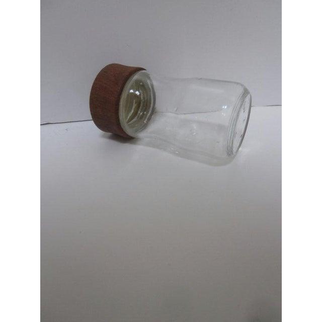 Digsmed Teak Glass Spice Jar - Image 5 of 9