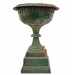 Vintage Iron Garden Urn