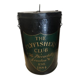 Flyfishers Club London Tin Ballot Box