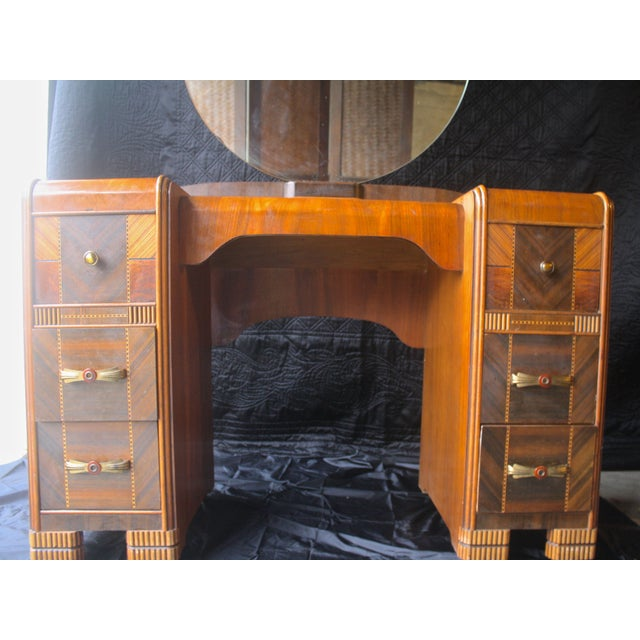 Image of Art Deco Antique Vanity