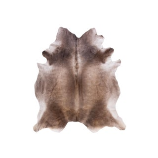 """Natural Cowhide Area Rug - 6'9"""" x 6'7"""""""