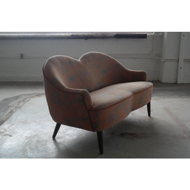 Mid Century Loveseat Attributed to IB Kofod Larsen - Image 10 of 10