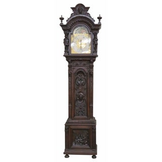 Elliot of London 9-Tube Figural Clock