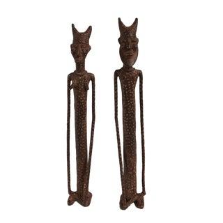 Dogon Bronze Mali Figures