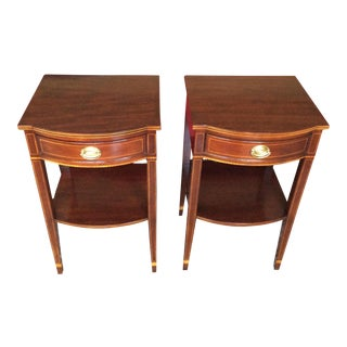 Kittinger Tall End Tables - A Pair