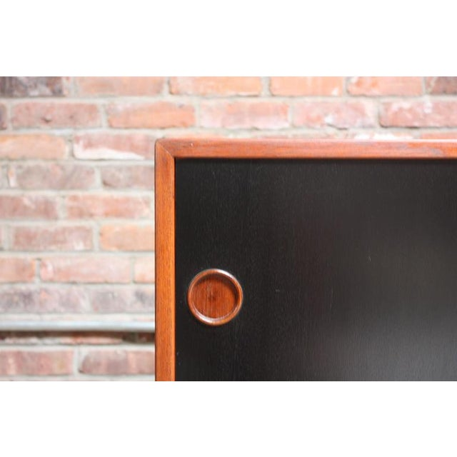 Arne Vodder Teak Credenza with Reversible Doors - Image 5 of 11