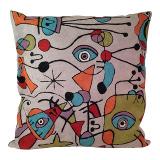 'Picasso' Wool Designer Pillow