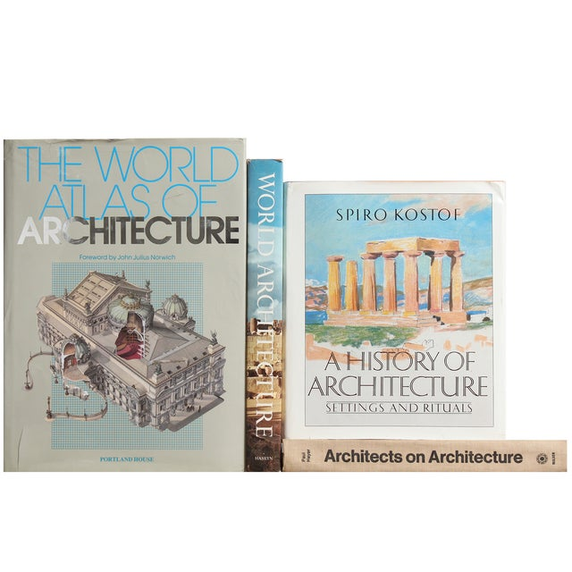 History of Architecture Books - Set of 4 - Image 2 of 3