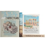 Image of History of Architecture Books - Set of 4