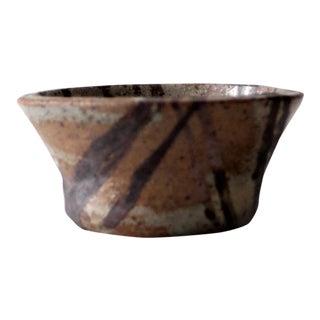 Mid-Century Signed Studio Pottery Bowl