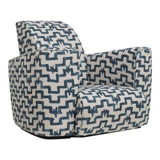 Customizable The Deco Club Chair by Talisman Bespoke
