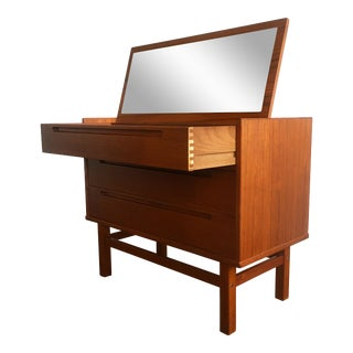 Nils Jonsson Danish Modern Teak Dressing Table