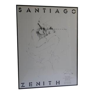 Ramon Santiago Gallery Print 1979